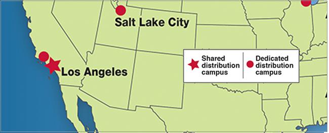 west coast distribution