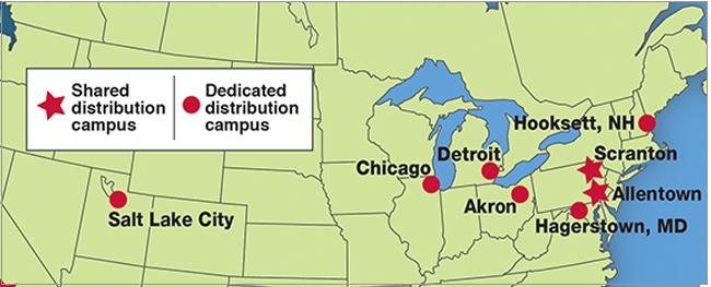 northeast distribution