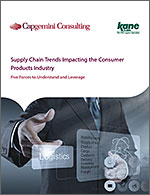Capgemini and KANE Team Up to Look at Consumer Goods Supply Chain