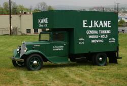 Vintage 1930s KANE delivery truck