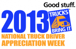 Kane Is Able, Inc. Recognizes Professional Truck Drivers During National Truck Driver Appreciation Week