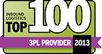 Kane Is Able, Inc. Named Top 100 3PL Provider By Inbound Logistics Magazine