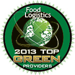 """Kane Is Able Named to Food Logistics' """"2013 Top Green Providers List"""""""