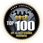 Kane Is Able, Inc. Named Top Cold Storage 3PL by Food Logistics Magazine