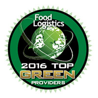 Food Logistics 2016 Top Green Providers Award