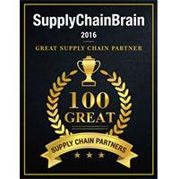 Supply Chain Brain 100 Great Supply Chain Partners Award
