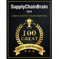 Supply Chain Brain 100 Great Supply Chain Partners Award