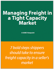 Managing Freight in a Tight Capacity Market