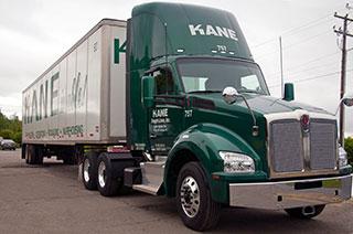 New Kenworth trucks to support KANE's Northeast trucking solution