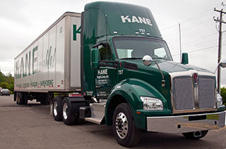New Kenworth trucks to support KANE's Northeast trucking solution