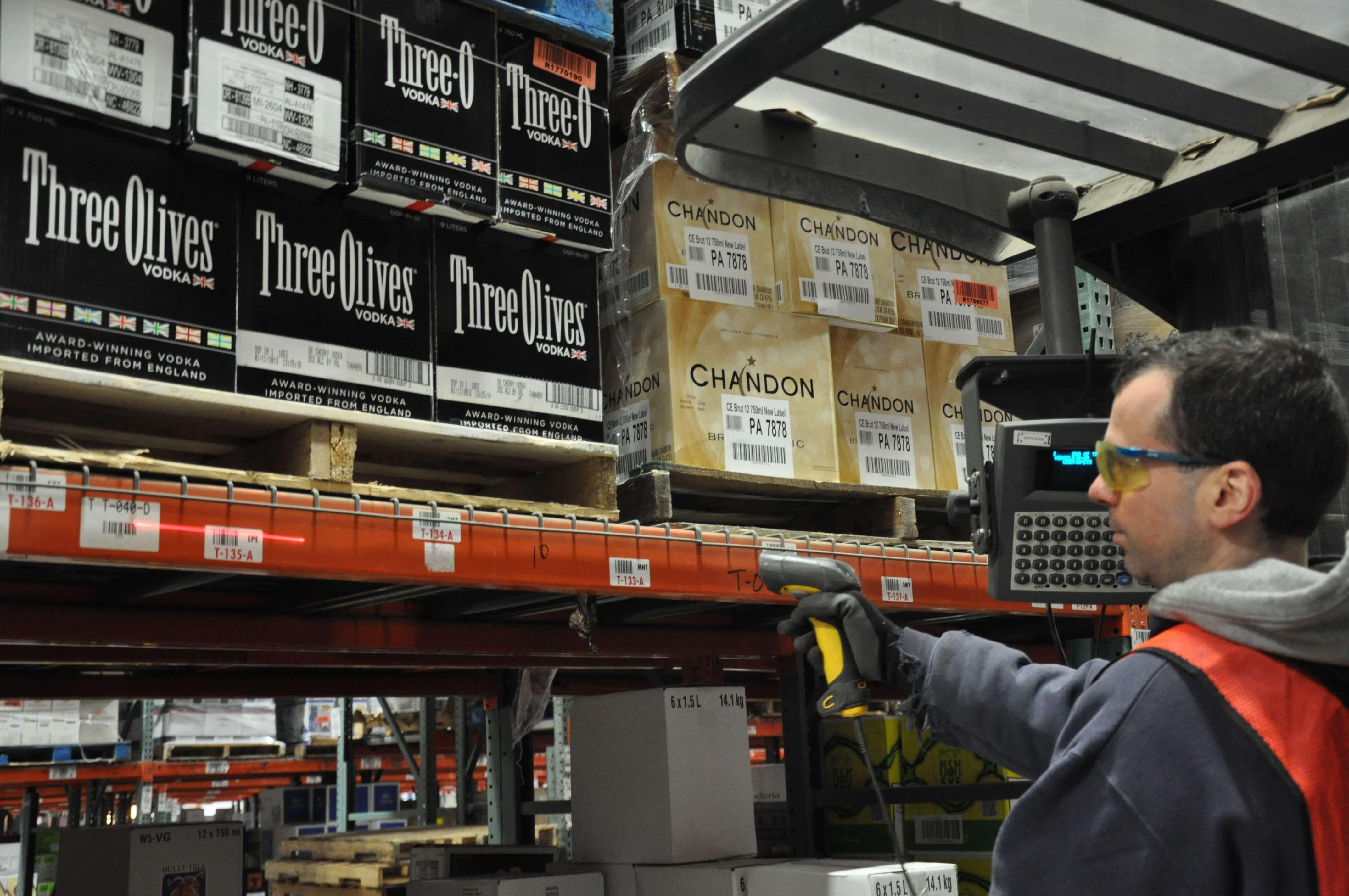 warehouse training RF scanning