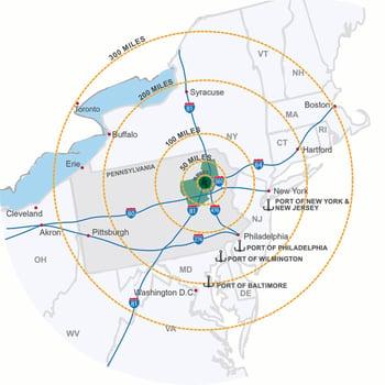 scranton warehousing-northeast-distribution