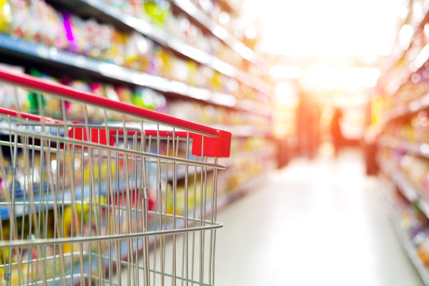 grocery supply chain cart
