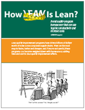 How Lean is Lean