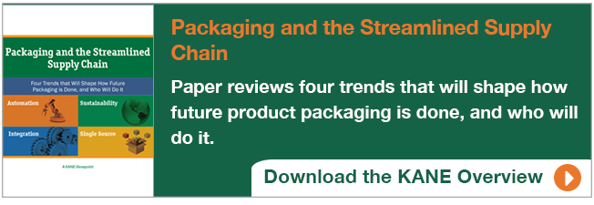 Integrating contract packaging into logistics operations