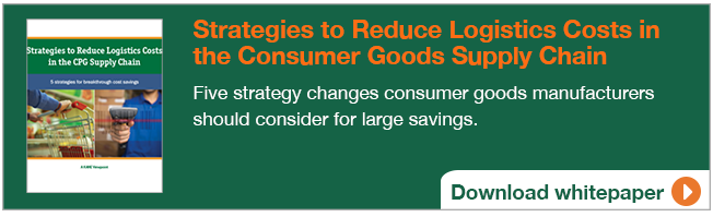 Strategies to Reduce Logistics Costs in the Consumer Goods Supply Chain